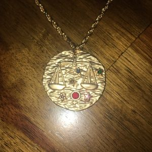 Jewelry - Libra Zodiac Gold Necklace